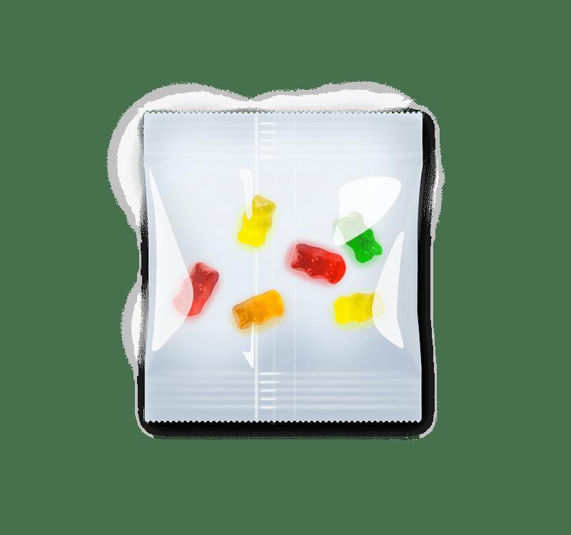 Minibeutel Gummibärchen